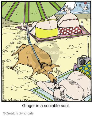 Cartoonist Jerry Van Amerongen  Ballard Street 2013-09-25 dog