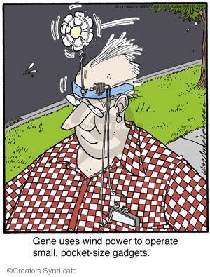 Comic Strip Jerry Van Amerongen  Ballard Street 2013-10-01 device
