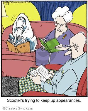 Comic Strip Jerry Van Amerongen  Ballard Street 2013-10-03 reading book