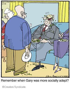 Comic Strip Jerry Van Amerongen  Ballard Street 2013-10-26 remember