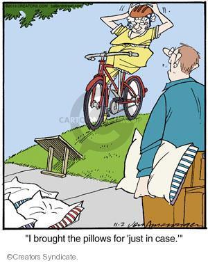 Comic Strip Jerry Van Amerongen  Ballard Street 2013-11-02 bicycle