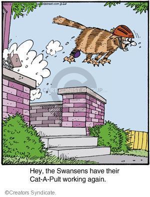 Comic Strip Jerry Van Amerongen  Ballard Street 2013-11-20 hey