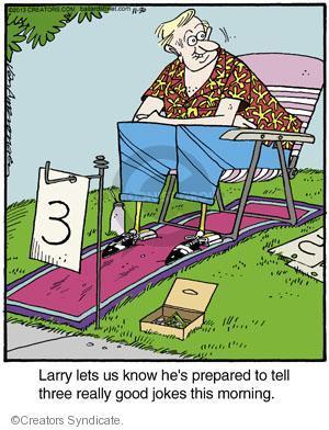Comic Strip Jerry Van Amerongen  Ballard Street 2013-11-30 Larry