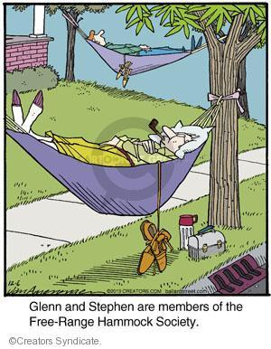 Comic Strip Jerry Van Amerongen  Ballard Street 2013-12-06 Glenn