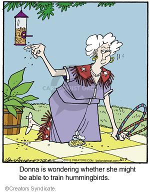 Comic Strip Jerry Van Amerongen  Ballard Street 2013-12-07 Donna