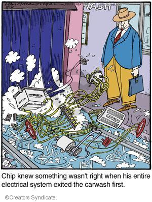Comic Strip Jerry Van Amerongen  Ballard Street 2013-12-30 system