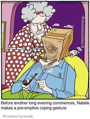 Comic Strip Jerry Van Amerongen  Ballard Street 2013-12-31 relationship