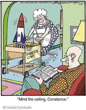 Comic Strip Jerry Van Amerongen  Ballard Street 2014-01-18 hazard