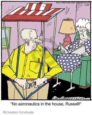 Comic Strip Jerry Van Amerongen  Ballard Street 2014-01-24 recreation