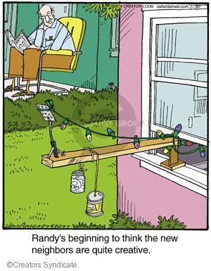 Comic Strip Jerry Van Amerongen  Ballard Street 2014-01-30 quite