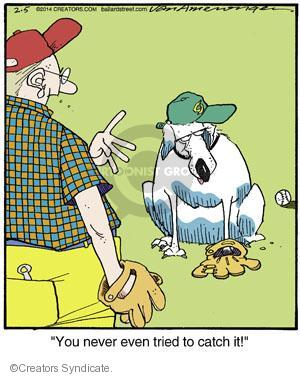 Comic Strip Jerry Van Amerongen  Ballard Street 2014-02-05 baseball