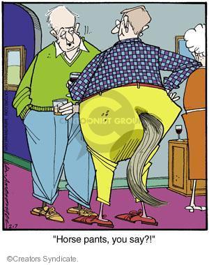 Comic Strip Jerry Van Amerongen  Ballard Street 2014-02-07 garment