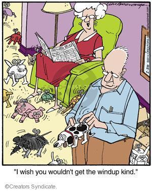 Cartoonist Jerry Van Amerongen  Ballard Street 2014-02-24 hobby