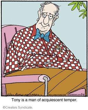 Comic Strip Jerry Van Amerongen  Ballard Street 2014-03-04 disposition