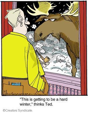 Comic Strip Jerry Van Amerongen  Ballard Street 2014-03-05 wildlife