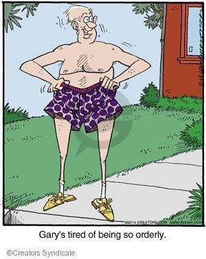 Comic Strip Jerry Van Amerongen  Ballard Street 2014-03-13 clothes