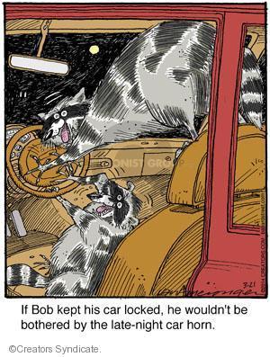 Comic Strip Jerry Van Amerongen  Ballard Street 2014-03-21 wildlife