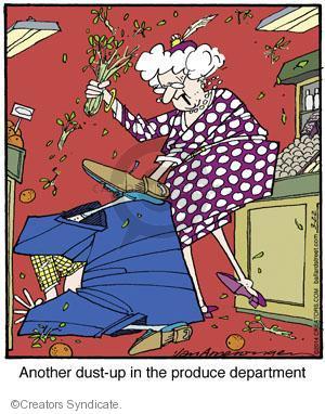 Comic Strip Jerry Van Amerongen  Ballard Street 2014-03-22 argument