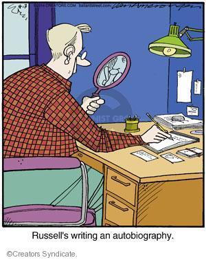 Comic Strip Jerry Van Amerongen  Ballard Street 2014-04-03 author
