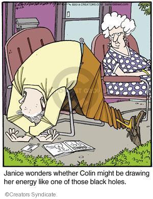 Comic Strip Jerry Van Amerongen  Ballard Street 2014-04-12 depression