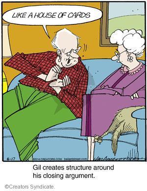 Comic Strip Jerry Van Amerongen  Ballard Street 2014-04-17 argument