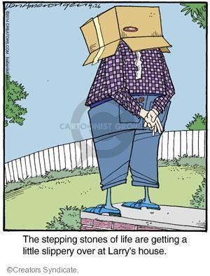 Comic Strip Jerry Van Amerongen  Ballard Street 2014-04-26 hazard