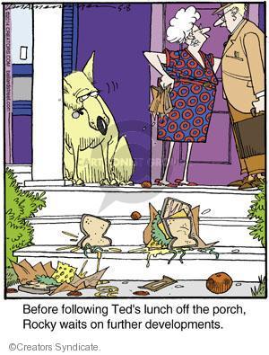 Cartoonist Jerry Van Amerongen  Ballard Street 2014-05-08 dog