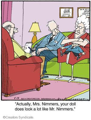 Comic Strip Jerry Van Amerongen  Ballard Street 2014-05-13 therapist