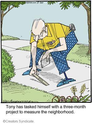 Comic Strip Jerry Van Amerongen  Ballard Street 2014-05-20 himself