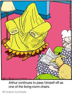 Comic Strip Jerry Van Amerongen  Ballard Street 2014-05-24 himself