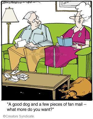 Comic Strip Jerry Van Amerongen  Ballard Street 2014-06-03 good dog
