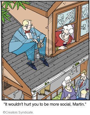 Comic Strip Jerry Van Amerongen  Ballard Street 2014-06-06 social