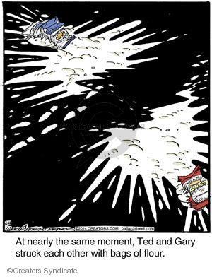 Comic Strip Jerry Van Amerongen  Ballard Street 2014-06-12 throw