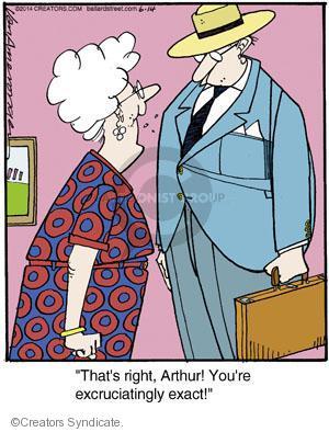 Comic Strip Jerry Van Amerongen  Ballard Street 2014-06-14 argument