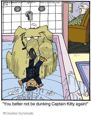 Cartoonist Jerry Van Amerongen  Ballard Street 2014-06-16 dog toy