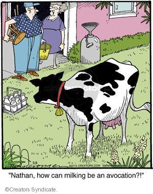 Comic Strip Jerry Van Amerongen  Ballard Street 2014-07-03 nathan