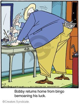 Comic Strip Jerry Van Amerongen  Ballard Street 2014-07-12 irate