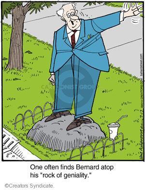 Comic Strip Jerry Van Amerongen  Ballard Street 2014-07-17 atop