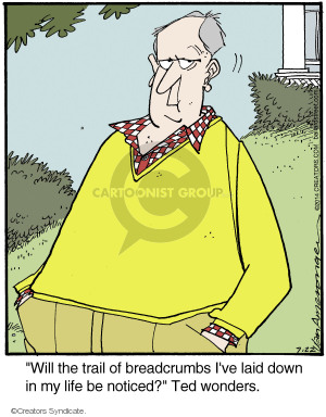 Comic Strip Jerry Van Amerongen  Ballard Street 2014-07-22 bread
