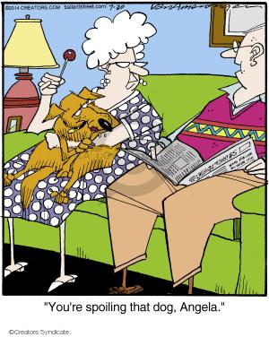 Comic Strip Jerry Van Amerongen  Ballard Street 2014-07-30 spoil