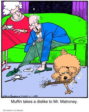 Comic Strip Jerry Van Amerongen  Ballard Street 2014-08-08 dislike