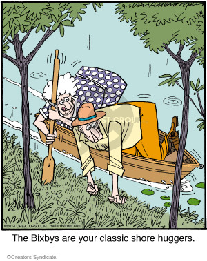 Comic Strip Jerry Van Amerongen  Ballard Street 2014-09-12 boat