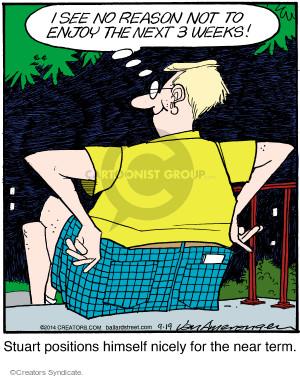 Comic Strip Jerry Van Amerongen  Ballard Street 2014-09-19 position