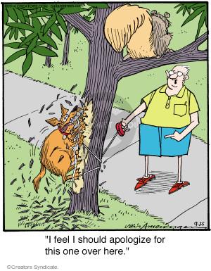 Comic Strip Jerry Van Amerongen  Ballard Street 2014-09-25 over