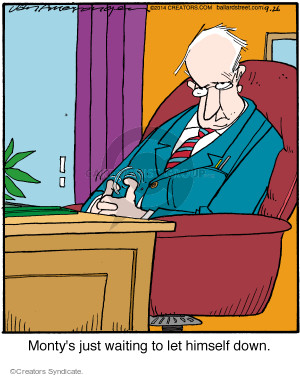 Comic Strip Jerry Van Amerongen  Ballard Street 2014-09-26 himself