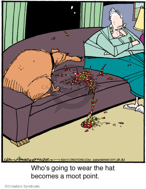 Comic Strip Jerry Van Amerongen  Ballard Street 2014-10-31 chew