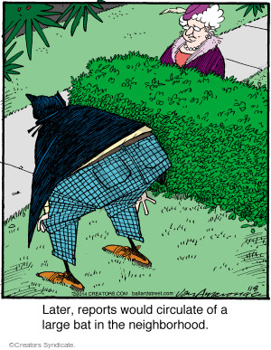 Comic Strip Jerry Van Amerongen  Ballard Street 2014-11-08 disguise