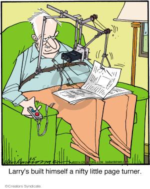 Comic Strip Jerry Van Amerongen  Ballard Street 2014-11-15 himself