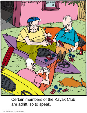 Comic Strip Jerry Van Amerongen  Ballard Street 2014-11-25 boat