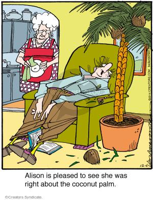 Comic Strip Jerry Van Amerongen  Ballard Street 2014-12-06 Alison